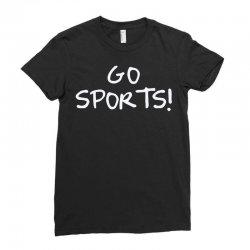 go sports! Ladies Fitted T-Shirt   Artistshot