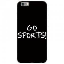 go sports! iPhone 6/6s Case   Artistshot
