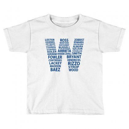 Cubs Wins Toddler T-shirt Designed By Novosel