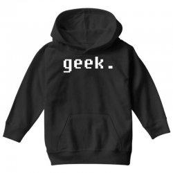 geek Youth Hoodie | Artistshot