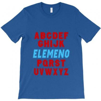Abc Elemeno T-shirt Designed By Satuprinsip