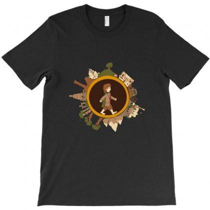 A Long Journey T-shirt Designed By Satuprinsip