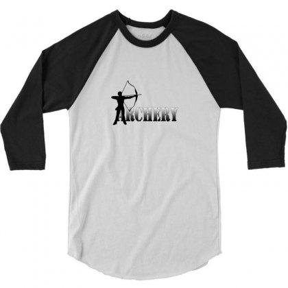 Archers Summer Games Archery 2012 3/4 Sleeve Shirt Designed By Satuprinsip