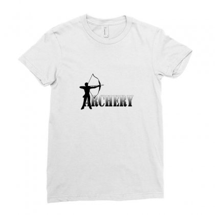 Archers Summer Games Archery 2012 Ladies Fitted T-shirt Designed By Satuprinsip