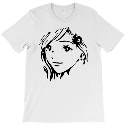 Anime Girl T-shirt Designed By Printshirts