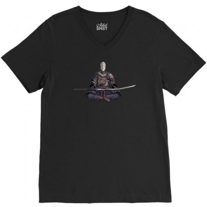 Artist Of The Abyss V-neck Tee Designed By Printshirts
