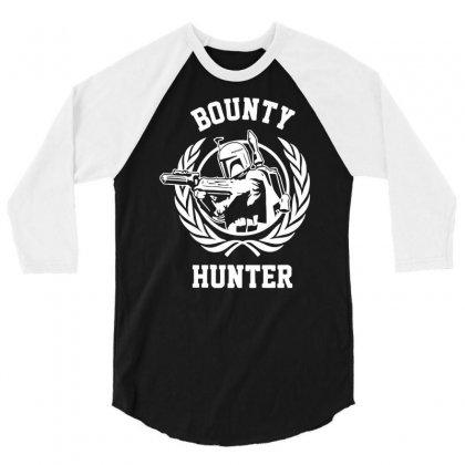 Bounty Hunter 3/4 Sleeve Shirt Designed By Printshirts
