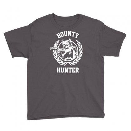 Bounty Hunter Youth Tee Designed By Printshirts