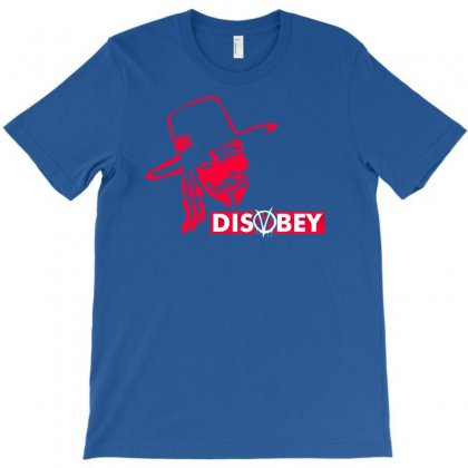 Disobey Joke Politics T-shirt Designed By Printshirts