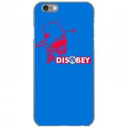 disobey joke politics iPhone 6/6s Case | Artistshot