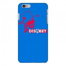 disobey joke politics iPhone 6 Plus/6s Plus Case | Artistshot