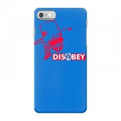 disobey joke politics iPhone 7 Case | Artistshot