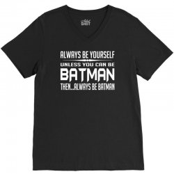 funny batman V-Neck Tee | Artistshot