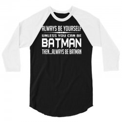 funny batman 3/4 Sleeve Shirt | Artistshot