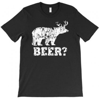 Funny Beer Bear T-shirt Designed By Printshirts