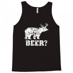 funny beer bear Tank Top | Artistshot