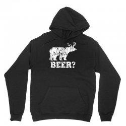 funny beer bear Unisex Hoodie | Artistshot