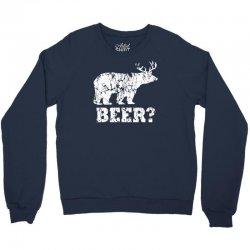 funny beer bear Crewneck Sweatshirt | Artistshot