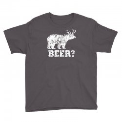 funny beer bear Youth Tee | Artistshot
