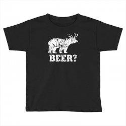 funny beer bear Toddler T-shirt | Artistshot