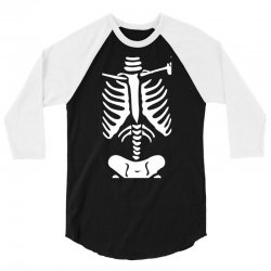 funny bone skeleton 3/4 Sleeve Shirt | Artistshot