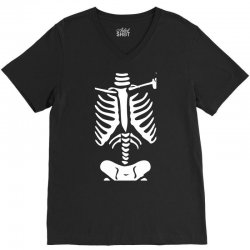 funny bone skeleton V-Neck Tee | Artistshot