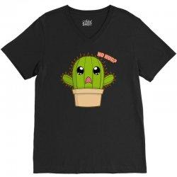 funny cactus hug V-Neck Tee | Artistshot