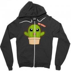 funny cactus hug Zipper Hoodie | Artistshot