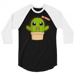 funny cactus hug 3/4 Sleeve Shirt | Artistshot