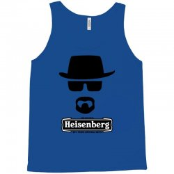 funny heisenberg top hat braking bad Tank Top | Artistshot