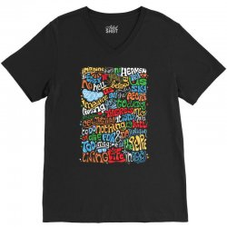 funny john lennon imagine quote V-Neck Tee | Artistshot