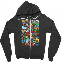 funny john lennon imagine quote Zipper Hoodie | Artistshot