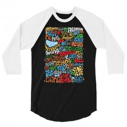 funny john lennon imagine quote 3/4 Sleeve Shirt | Artistshot