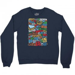 funny john lennon imagine quote Crewneck Sweatshirt | Artistshot
