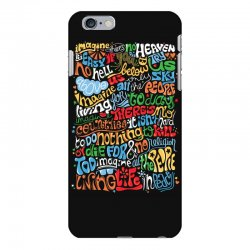 funny john lennon imagine quote iPhone 6 Plus/6s Plus Case | Artistshot