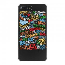 funny john lennon imagine quote iPhone 7 Plus Case | Artistshot