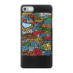 funny john lennon imagine quote iPhone 7 Case | Artistshot