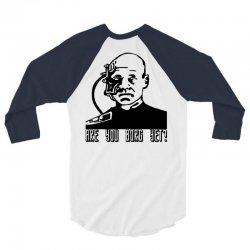 geek borg 3/4 Sleeve Shirt | Artistshot