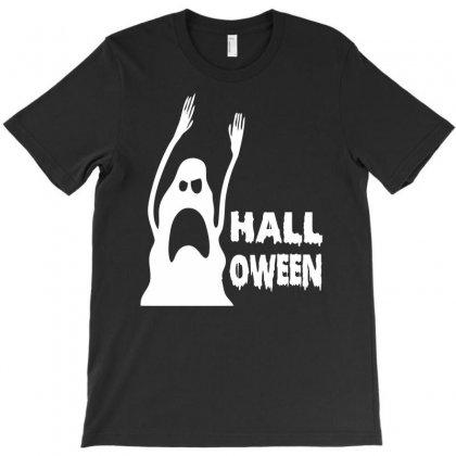 Halloween Ghost T-shirt Designed By Printshirts