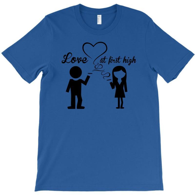 Love At First High T-shirt   Artistshot