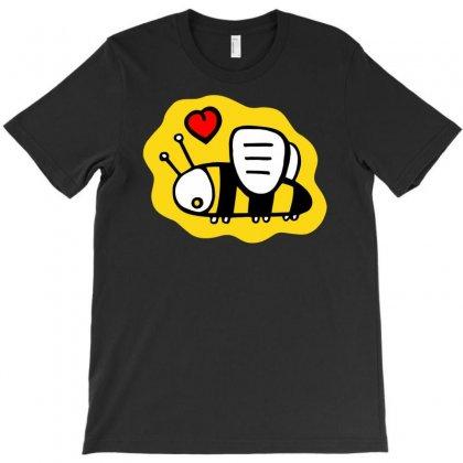 Love Bee Lover Valentine T-shirt Designed By Printshirts