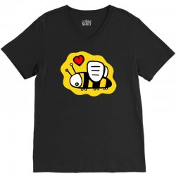 love bee lover valentine V-Neck Tee | Artistshot