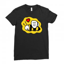love bee lover valentine Ladies Fitted T-Shirt | Artistshot