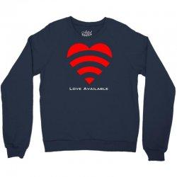love broadcast Crewneck Sweatshirt | Artistshot
