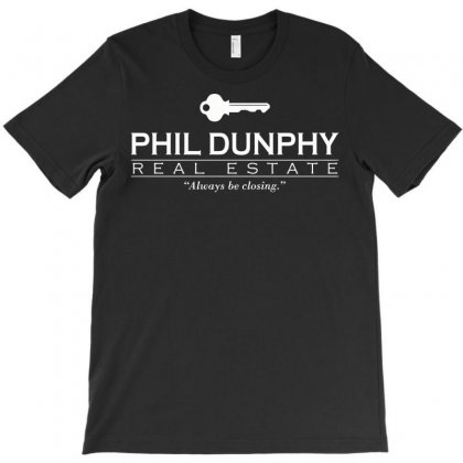 Phil Dunphy Real Estate T-shirt Designed By Deomatis9888
