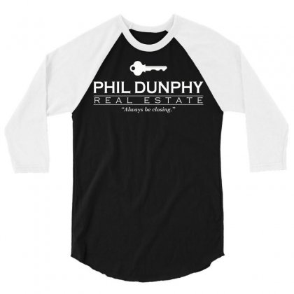 Phil Dunphy Real Estate 3/4 Sleeve Shirt Designed By Deomatis9888