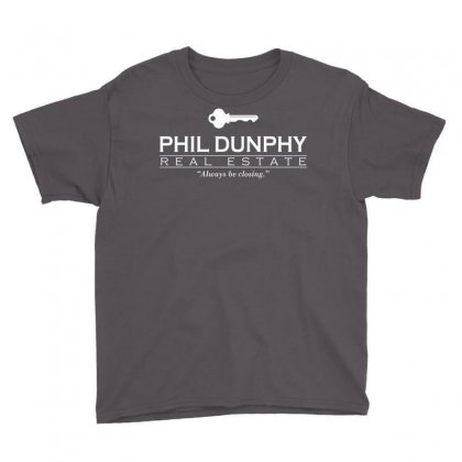 Phil Dunphy Real Estate Youth Tee Designed By Deomatis9888