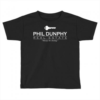 Phil Dunphy Real Estate Toddler T-shirt Designed By Deomatis9888