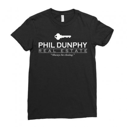 Phil Dunphy Real Estate Ladies Fitted T-shirt Designed By Deomatis9888