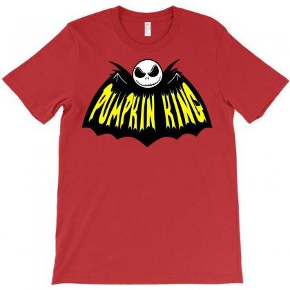 Pumpkin King T-shirt Designed By Deomatis9888